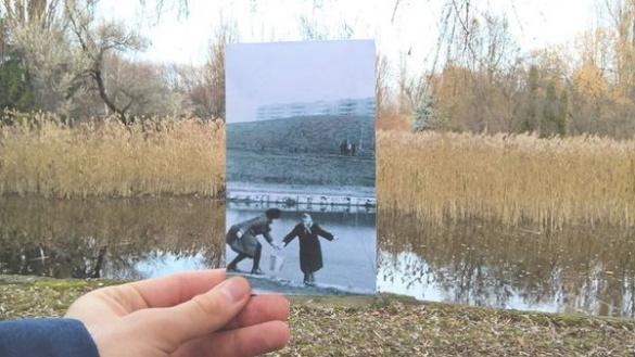 У Черкасах за допомогою фото креативно згадують минуле