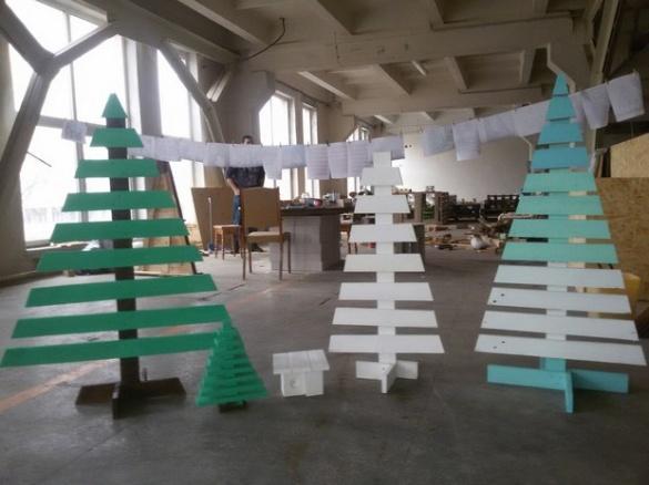 Найбільш креативні новорічні ялинки черкащан