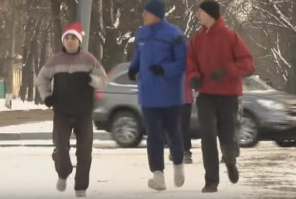 Черкащани почали новий рік пробіжкою вулицями міста