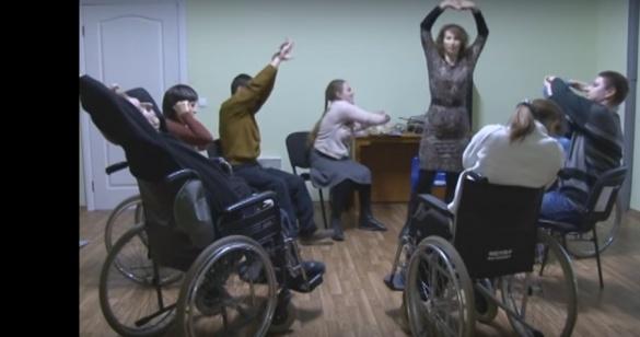 У Черкасах люди з обмеженими можливостями грають у виставах