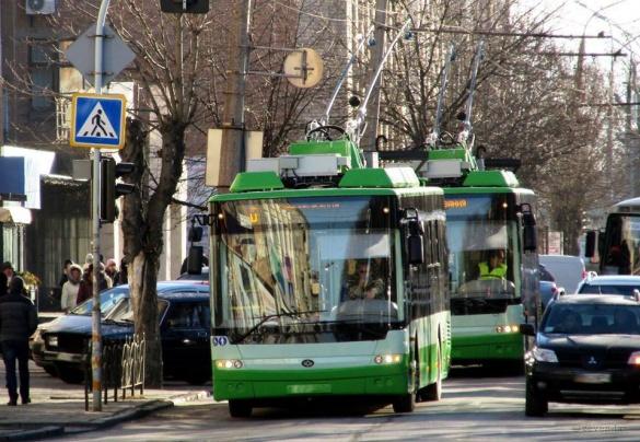 У Черкасах нові тролейбуси вийшли на перший маршрут