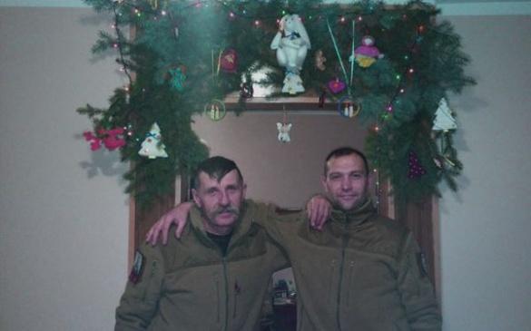 Як Новий рік зустріли черкаські бійці?