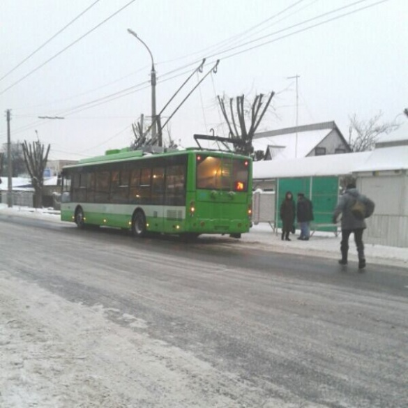 Нові тролейбуси вже вийшли на маршрути у Черкасах