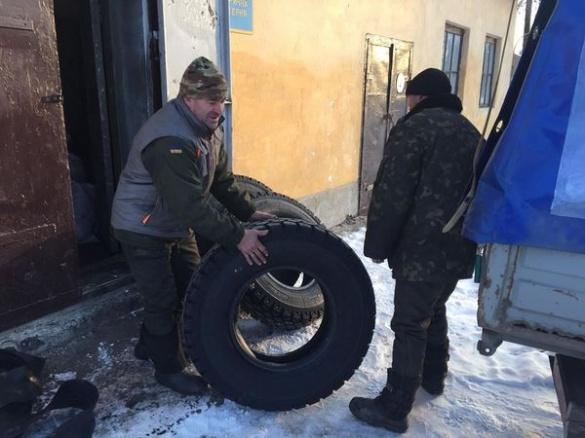 Новорічний подарунок викликав у черкаських бійців сльози