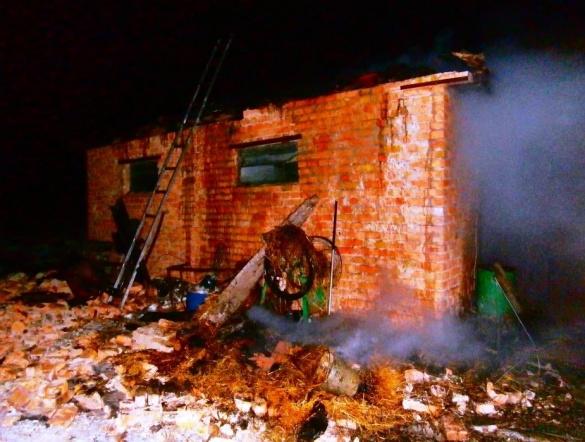 Черкаські рятувальники тричі ліквідовували загорання соломи