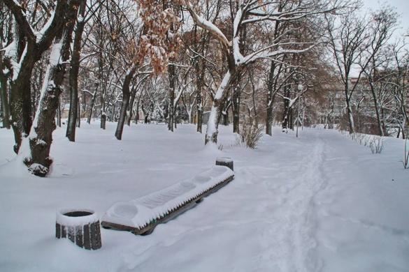 Якими стали Черкаси після надмірного снігопаду (ФОТО)