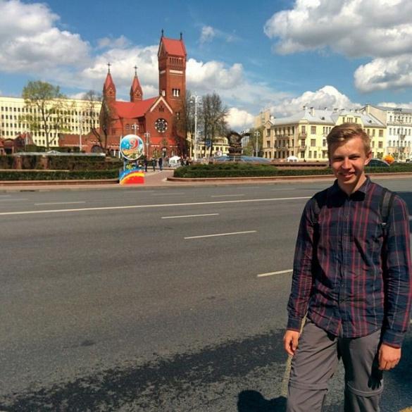 Черкащанин у 18 років автостопом проїхав країни Європи