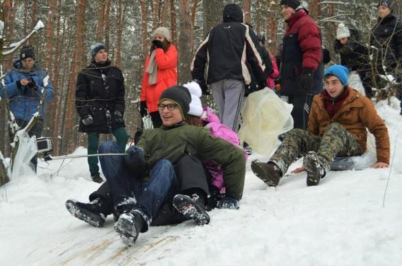Якими були розваги черкащан після великого снігопаду