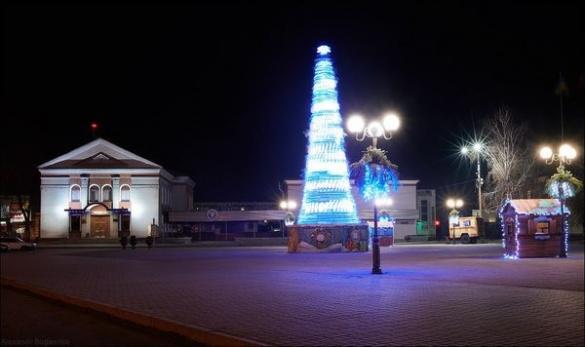 Стало відомо, яка новорічна ялинка на Черкащині була кращою