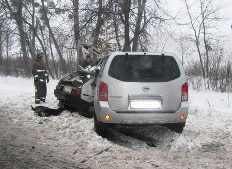 У жахливій ДТП на Черкащині загинуло дві особи (ВІДЕО)