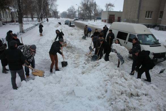 Черкаські науковці взяли до рук лопати (ФОТО)
