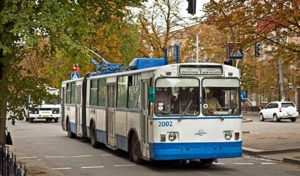 У Черкасах тролейбуси спокійно