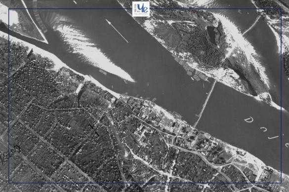 У мережі оприлюднили аерознімки Черкас від 1943 року