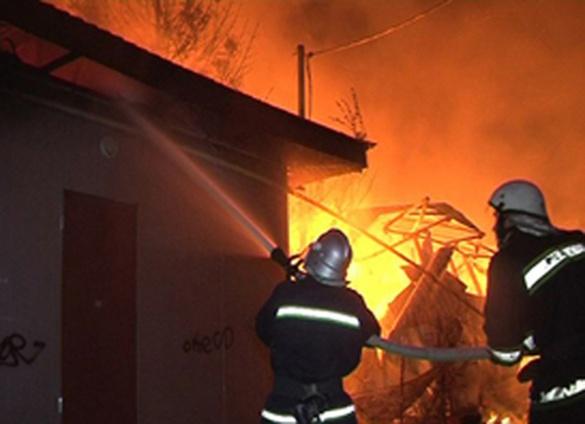 На Черкащині у пожежі згоріли велосипеди