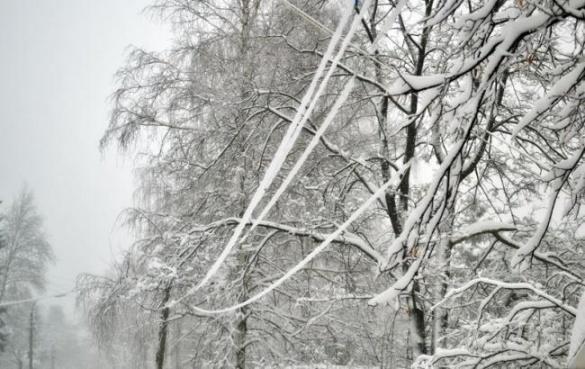 На Черкащині жителі 9 населених пунктів залишилися без світла