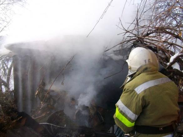 На Черкащині сталася пожежа через необережність з вогнем (ВІДЕО)