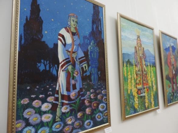 Черкащанам показали останні роботи відомого художника