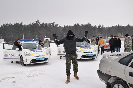 Навчання нових патрульних поліцейських Черкас добігає кінця