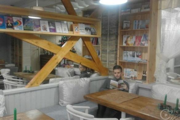 На Черкащині відкрили перше в Україні літературне кафе
