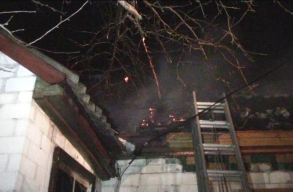 Через пожежу в Черкаському районі загинув пенсіонер