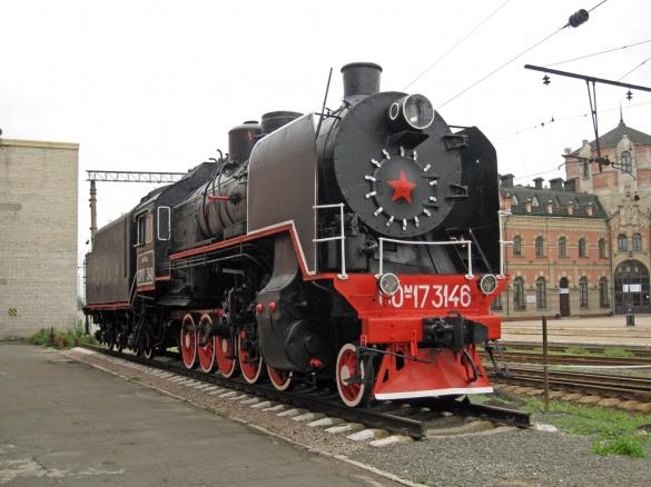 Сепаратисти вкрали на Черкащині раритетні паровози (ФОТО)