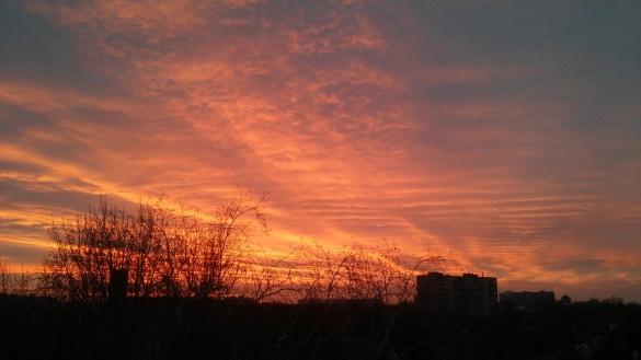 Черкащани у мережі милуються красивим світанком