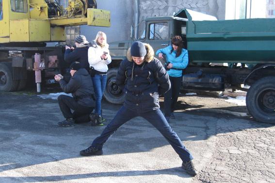 Майбутні черкаські патрульні вчаться діяти в екстремальних ситуаціях