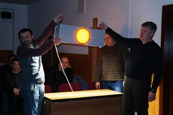 У Черкаській міськраді вирішують, якими світильниками обладнати