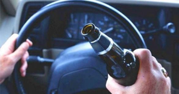 Водії у Черкаській області все частіше їздять п'яними