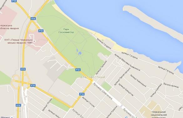 Компанія Google перейменувала вулиці у Черкасах