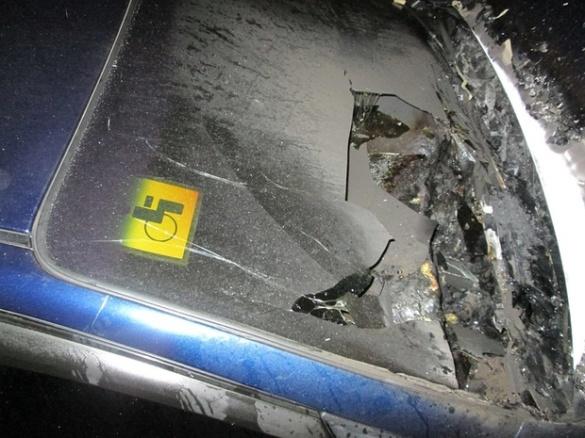 У Черкасах знову спалахнула автівка (ФОТО)