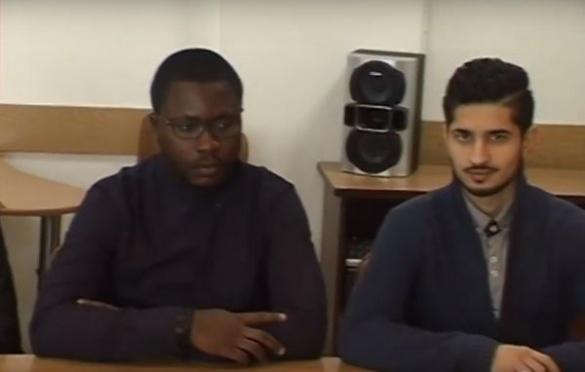 У Черкасах студент із Кувейту закликав у вірші