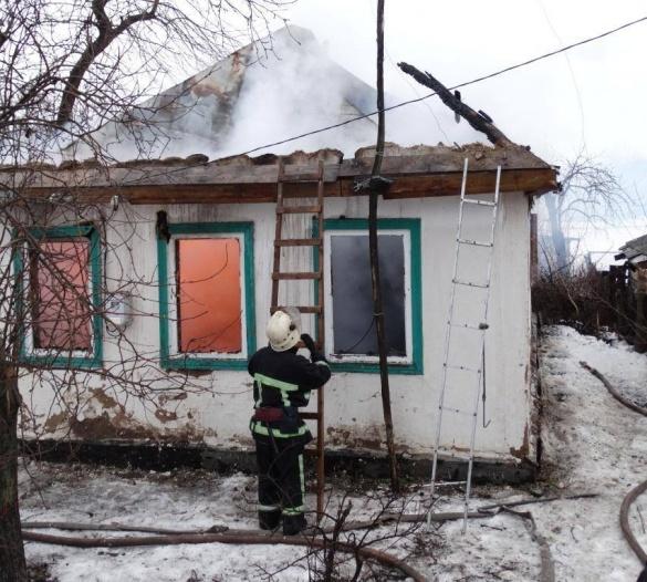 На Черкащині сталася пожежа у житловому будинку