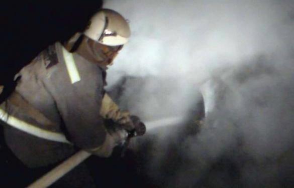 На Черкащині від вогню рятували дві автівки