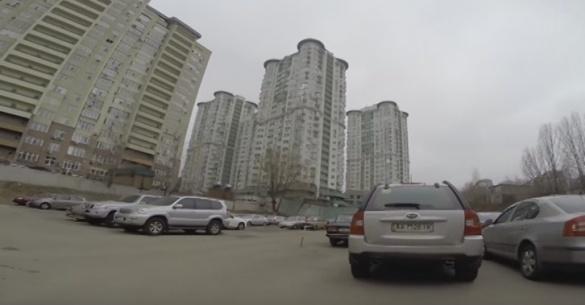Журналіст із Черкас викрав авто серед білого дня (ВІДЕО)