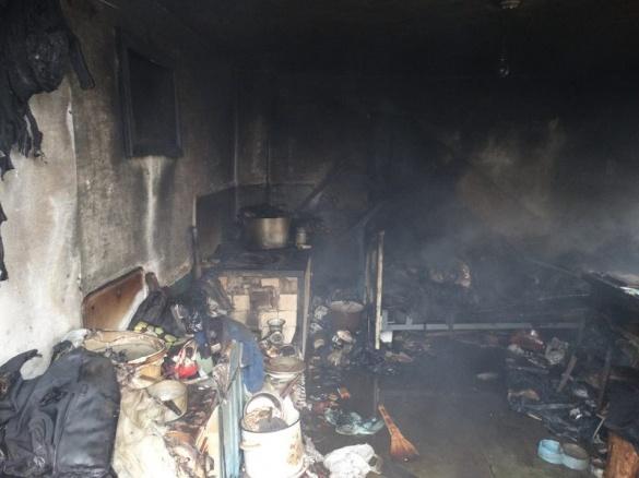 У пожежі на Черкащині через цигарки загинули дві людини