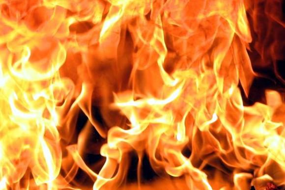 На Черкащині сталася сильна пожежа, яку було видно із неба