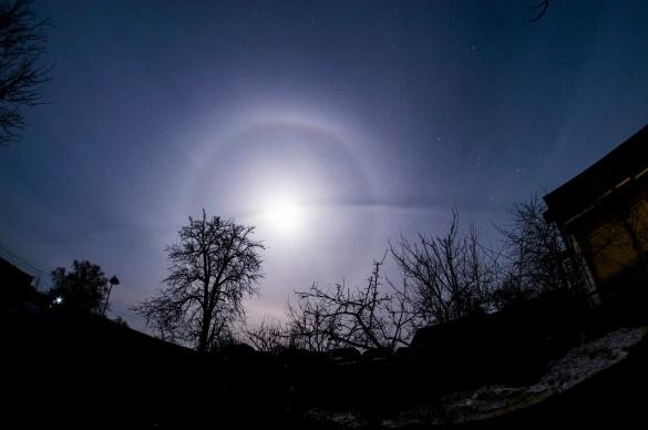 Жителі Черкащини спостерігали захоплююче атмосферне явище