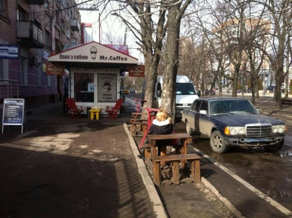 У Черкасах глузують із кави, що із вихлопними газами (ФОТО)