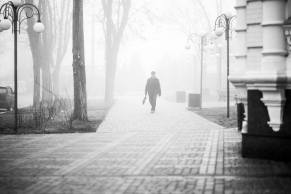 Англія за вікном. Як Черкаси виглядають у густому тумані? (ФОТО)
