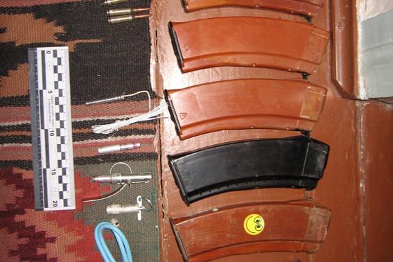 Черкащанин зберігав вдома цілий арсенал зброї (ФОТО)