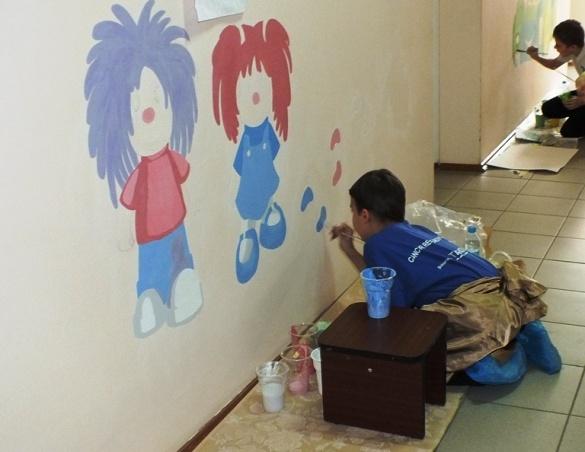 У дитячих лікарнях Черкас