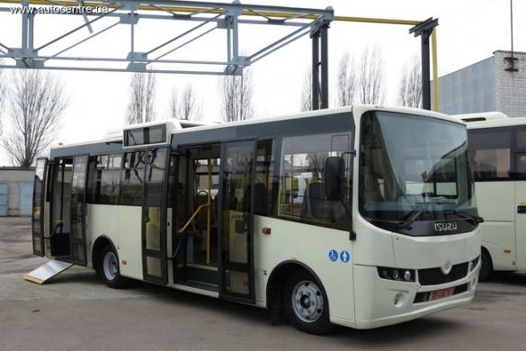 У Черкасах зробили надсучасний автобус (ФОТО)