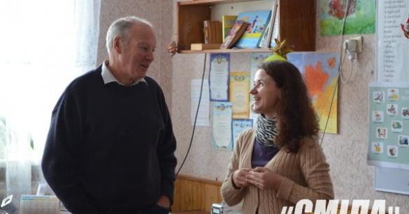 В одній із шкіл Черкащини викладає іноземець