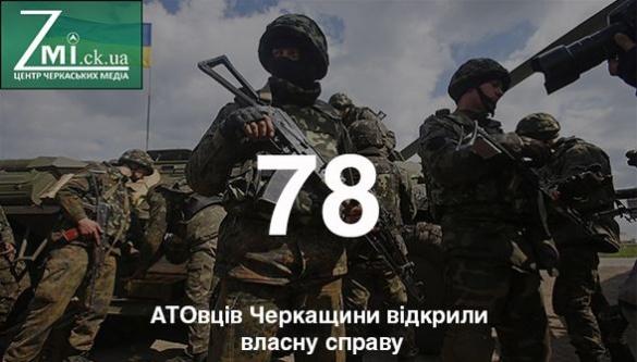 В Черкаській області АТОвці стають бізнесменами