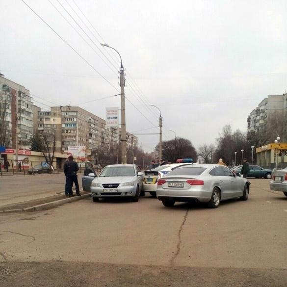 У Черкасах нові патрульні потрапили у аварію (ФОТО)
