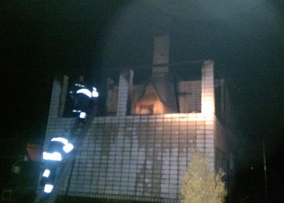 На Черкащині виникла пожежа у житловому будинку через пічне опалення