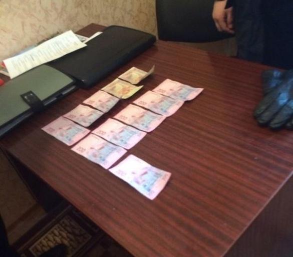В Черкаській області  на хабарі спіймали майора поліції