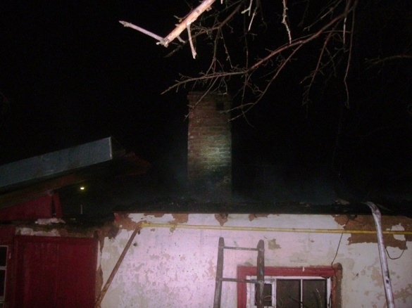 На Черкащині у житловому будинку сталася пожежа