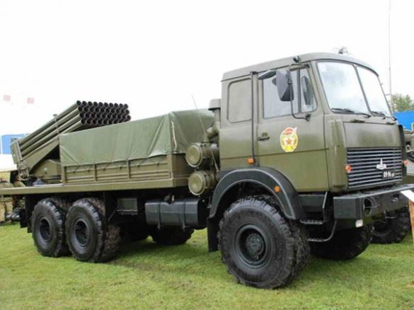 У Черкасах збиратимуть білоруські армійські вантажівки